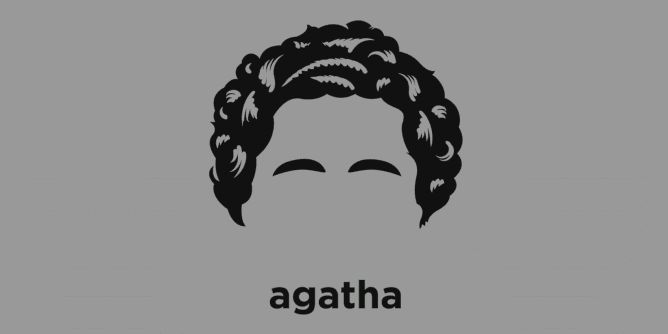 Graphic for agatha-christie