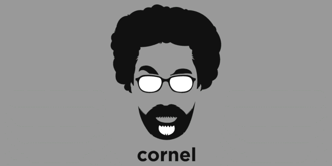 Graphic for cornel-west