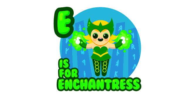 Graphic for e-is-for-enchantress