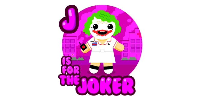 Graphic for j-is-for-the-joker