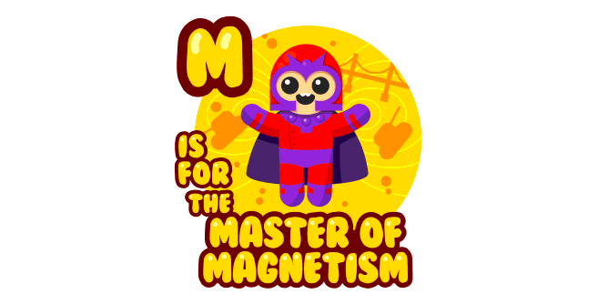 Graphic for m-is-for-the-master-of-magnetism