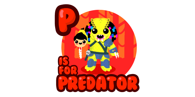 Graphic for p-is-for-predator