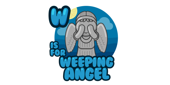 Graphic for w-is-for-weeping-angel