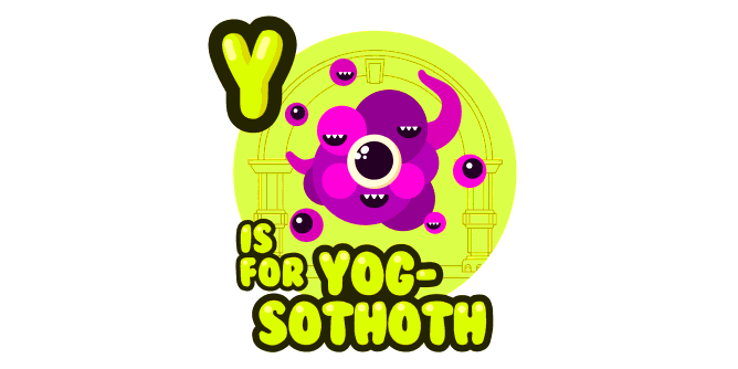 Graphic for y-is-for-yog-sothoth