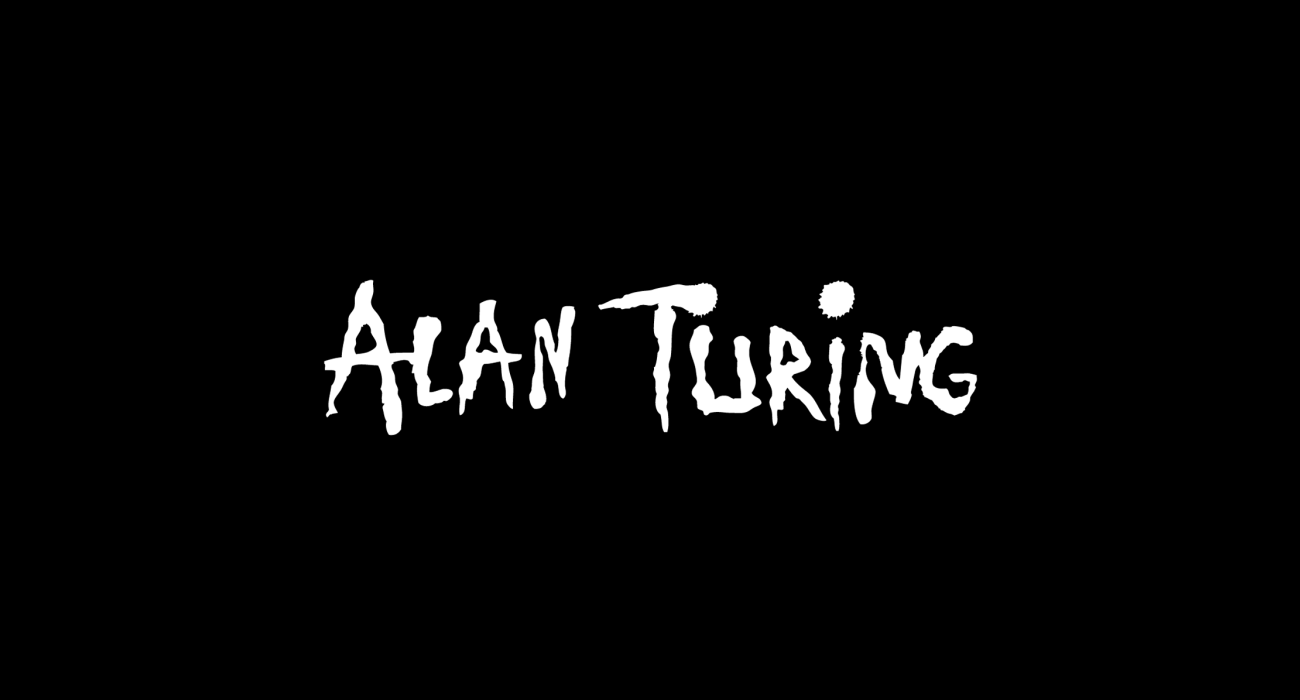 A fake band t-shirt for  Alan Turing: British mathematician, logician, cryptanalyst, and computer scientist, father of computer science and WWII codebreaking hero