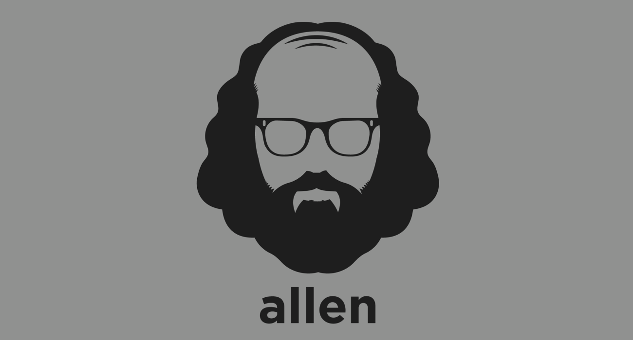 A t-shirt with a minimalist hair based illustration of  Allen Ginsberg: American poet and one of the leading figures of the Beat Generation. He vigorously opposed militarism, economic materialism and sexual repression, embodying counterculture values.