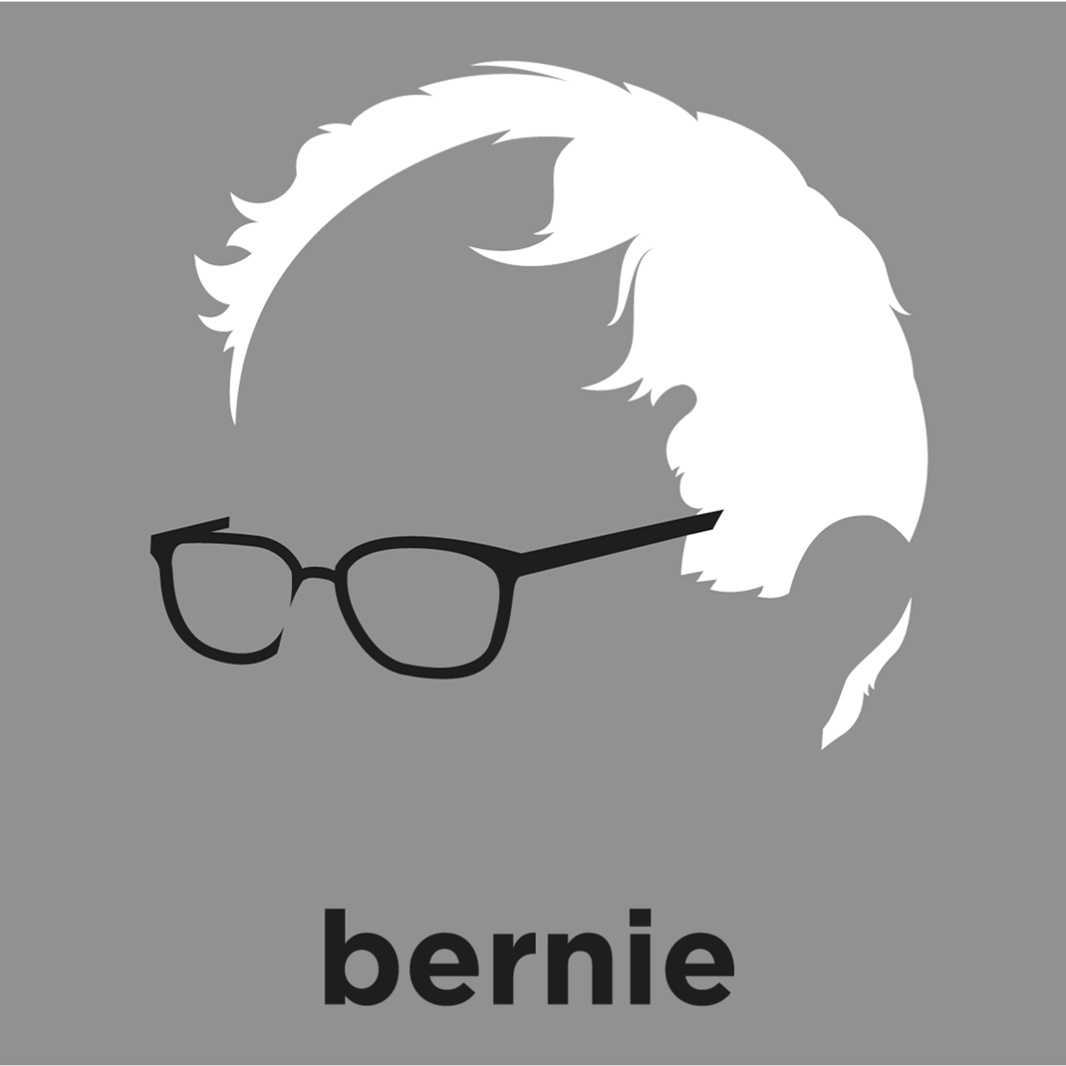 bernie sanders 2016 shirt. a t-shirt with minimalist hair based illustration of bernie sanders: firebrand senator sanders 2016 shirt