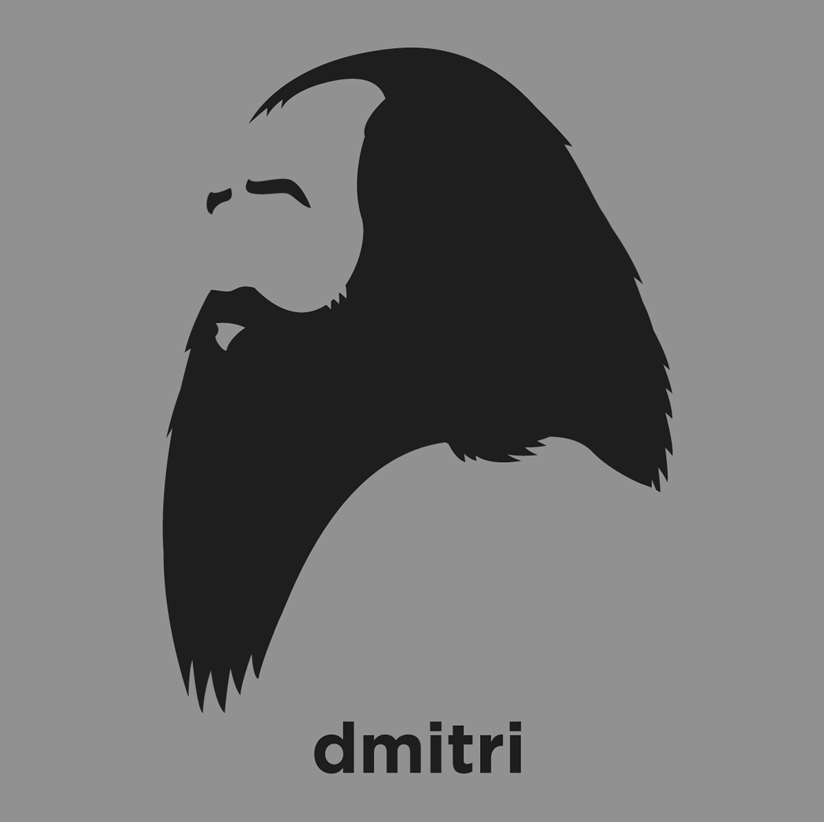 Dmitri mendeleev shirt from hirsute history a t shirt with a minimalist hair based illustration of dmitri mendeleev russian chemist gamestrikefo Choice Image