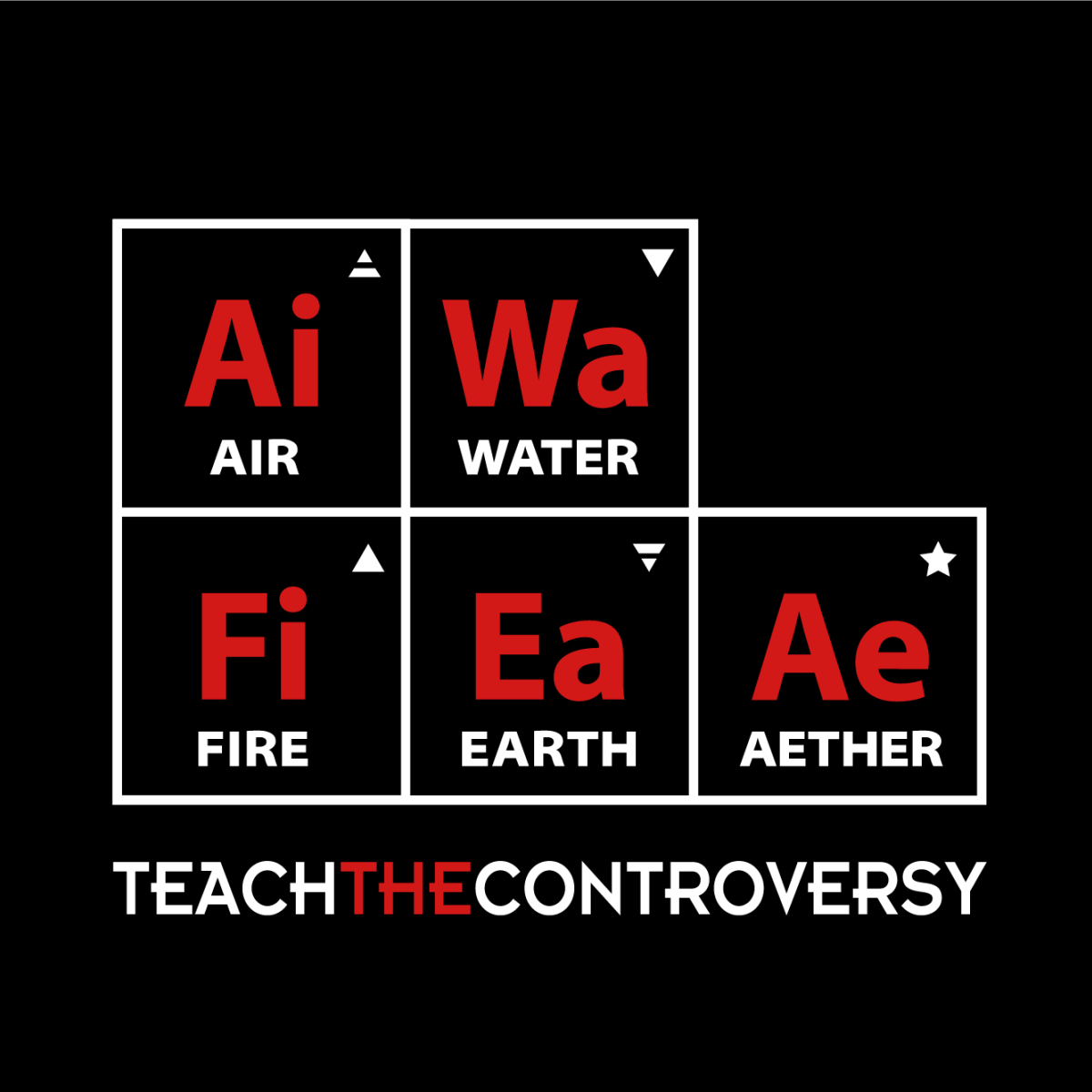 Classical Periodic Table Shirt From Teach The Controversy