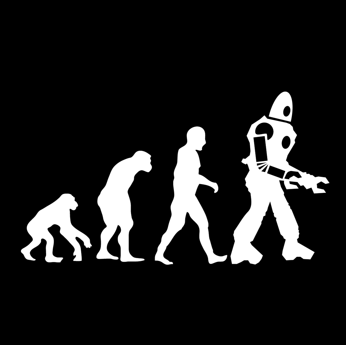 Shirt design mission tx - A Classic Evolution Diagram Except That The Final Stage Isn T Modern Man But Instead