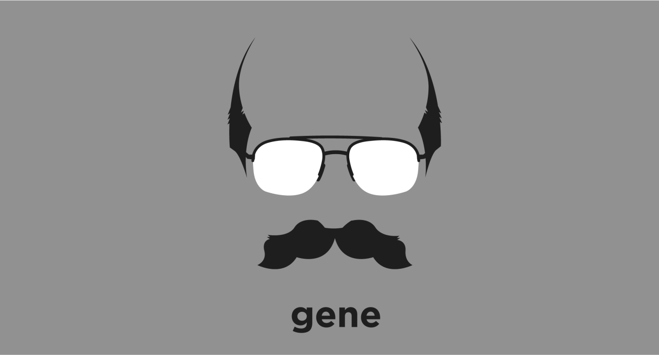 A t-shirt with a minimalist hair based illustration of Gene Wolfe: science fiction and fantasy writer noted for his dense, allusive prose as well as the strong influence, best known for his Book of the New Sun series.