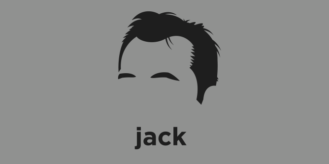 A t-shirt with a minimalist hair based illustration of  Jack Kerouac: novelist and poet who is considered a literary iconoclast and a pioneer of the Beat Generation. His work covers topics such as promiscuity, drugs, poverty, and travel.