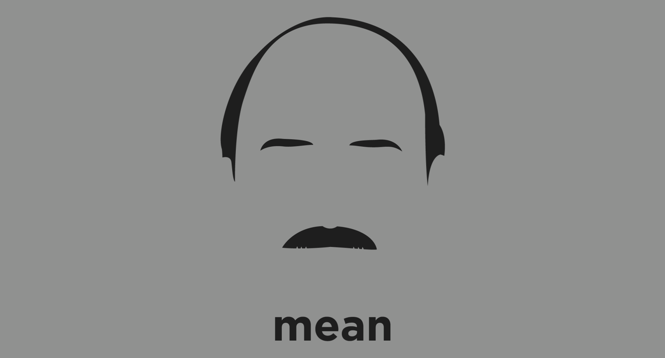 A t-shirt with a minimalist hair based illustration of Mean Gene Okerlund: semi-retired American professional wrestling interviewer and announcer best known for his work in the World Wrestling Federation and World Championship Wrestling