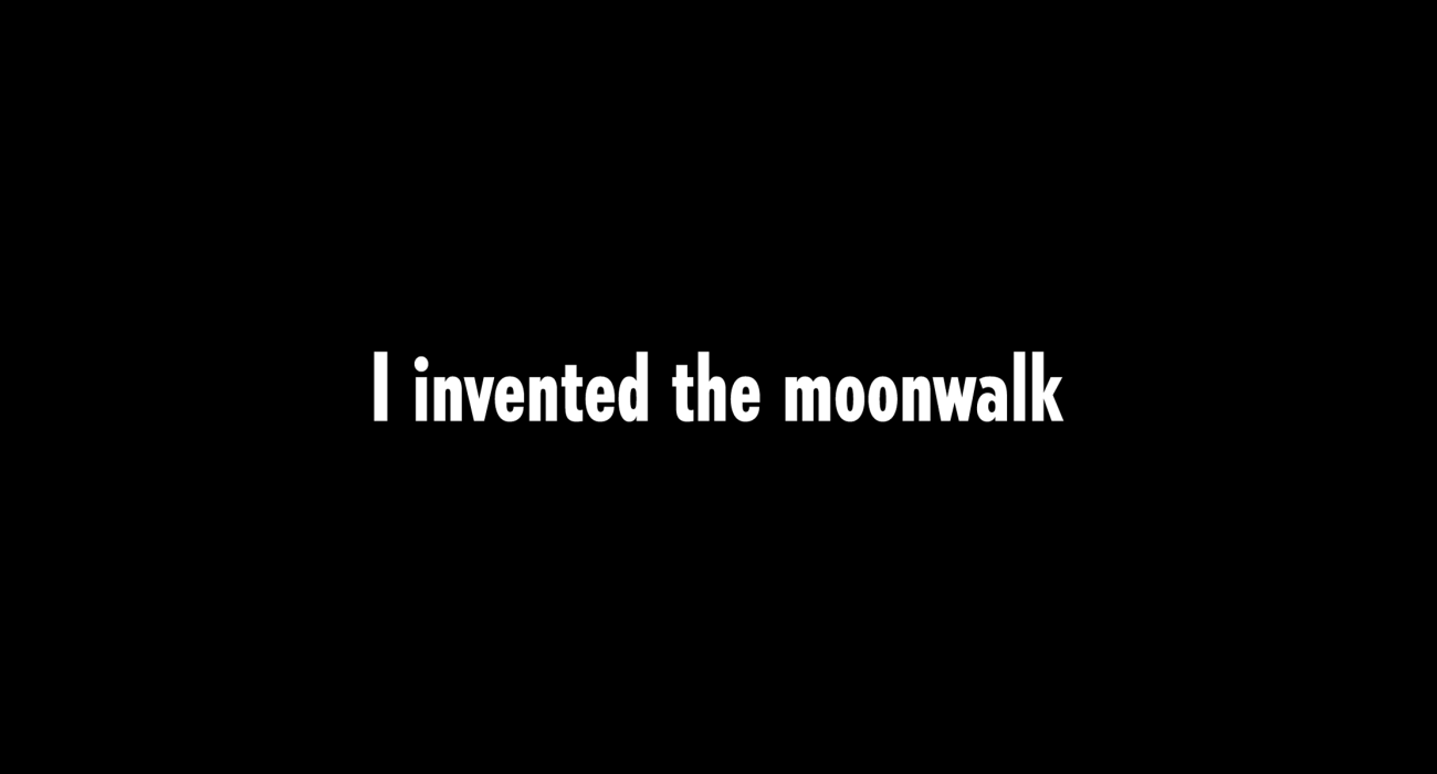 I invented the moonwalk the title of a great little Guided by Voices ditty which I thought would make a fine boastful tee shirt