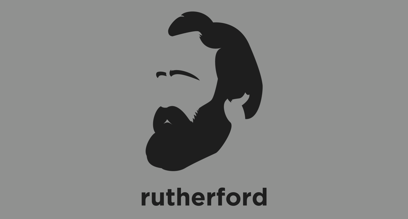 A t-shirt with a minimalist hair based illustration of Rutherford B. Hayes: the 19th President of the United States who oversaw the end of Reconstruction, and attempted to reconcile the divisions left over from the Civil War
