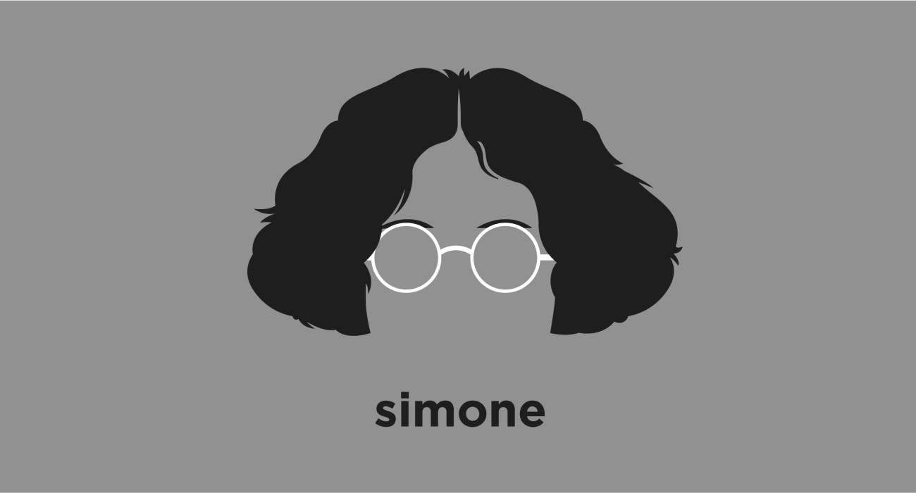 A t-shirt with a minimalist hair based illustration of Simone Weil: French philosopher described by Albert Camus as 'the only great spirit of our times'. She taught intermittently throughout the 1930s, taking several breaks to devote herself to political activism in support of the working class and to resist Spanish fascism.
