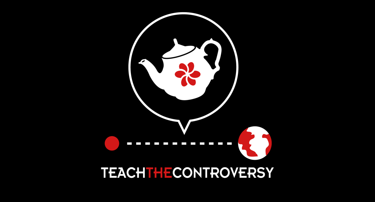 A religious parody t-shirt:  Russell's teapot, sometimes called the celestial teapot or cosmic teapot, is an analogy first coined by the philosopher Bertrand Russell to illustrate that the philosophic burden of proof lies upon a person making scientifically unfalsifiable claims