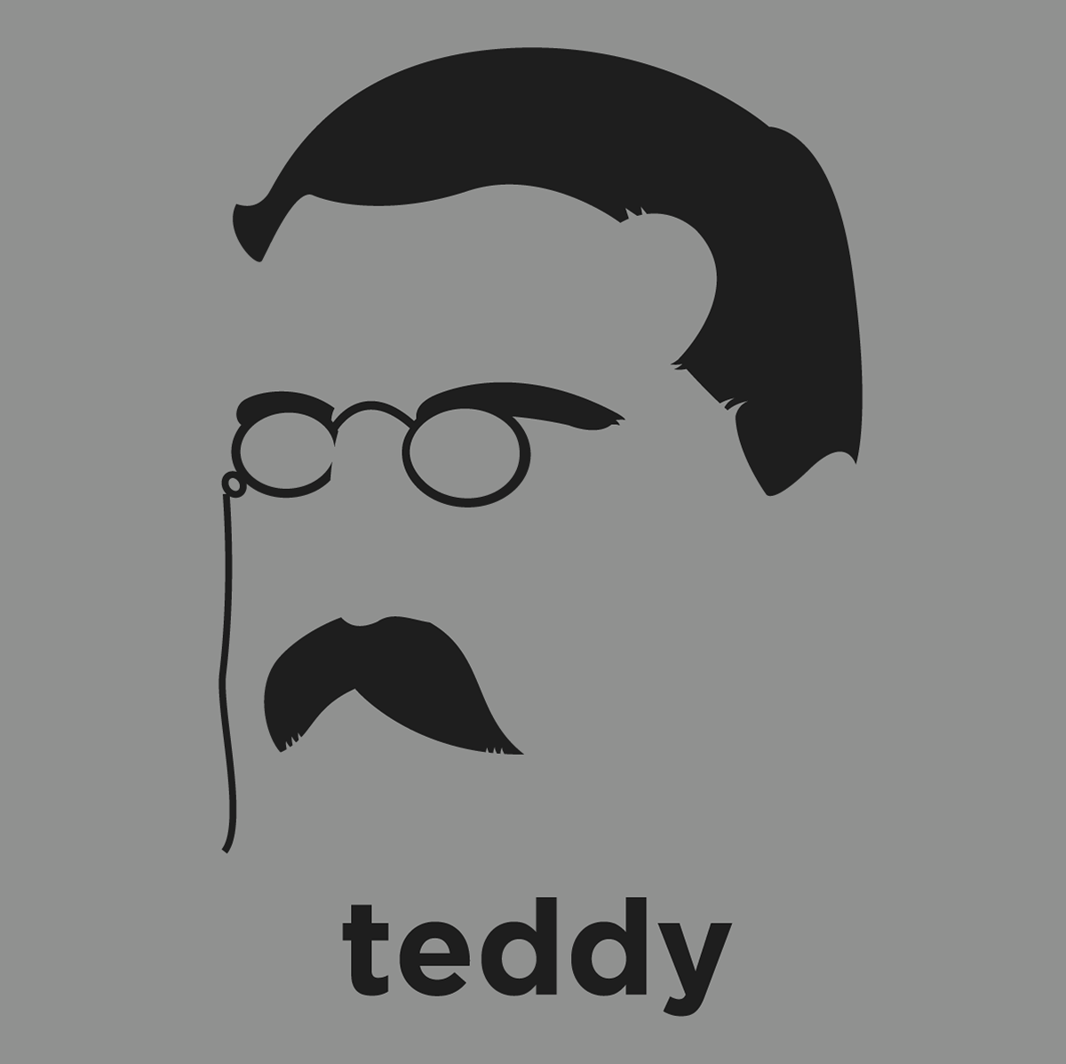Teddy Roosevelt shirt from Hirsute History