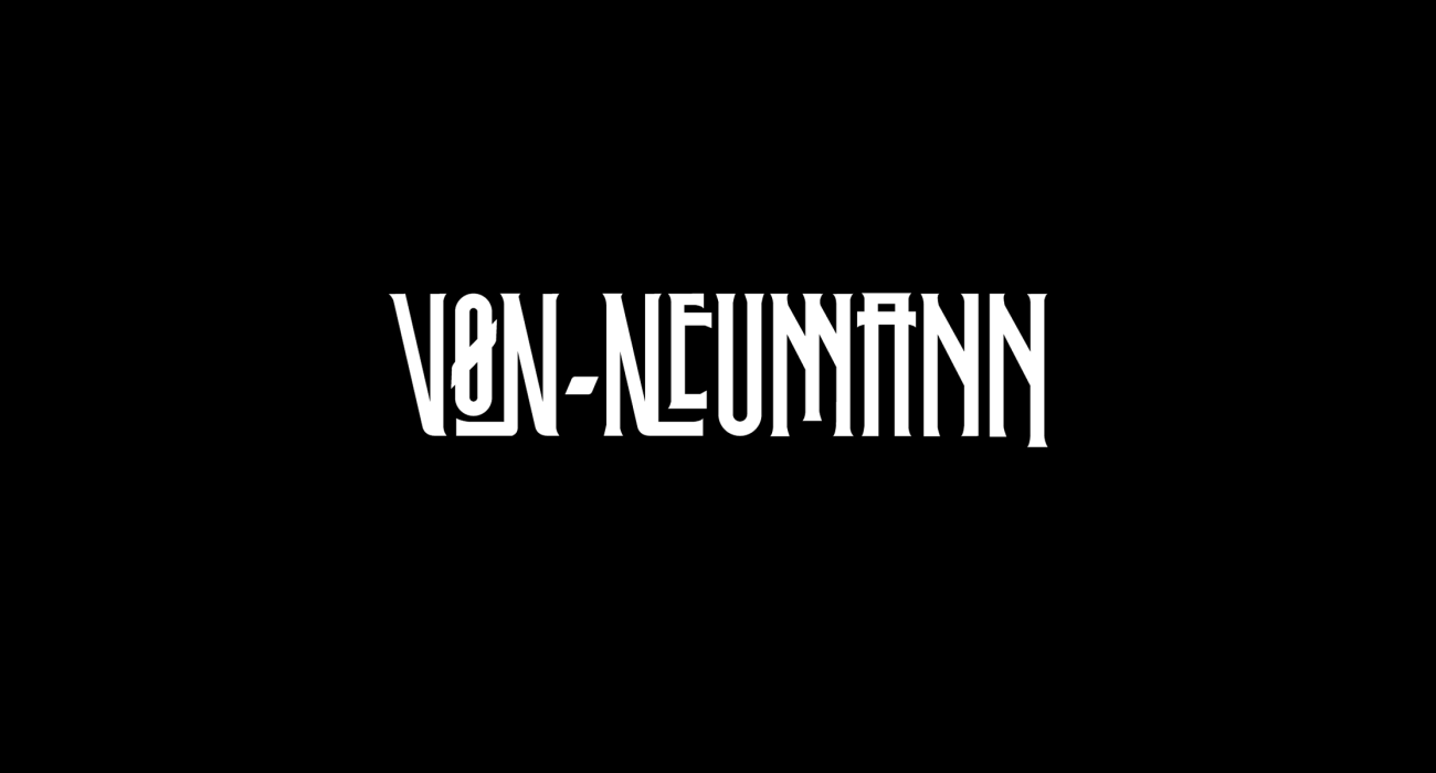 A fake band t-shirt for  John von Neumann: a polymath who made major contributions to a number of fields, including mathematics, quantum mechanics, economics, computing, self-replicating machines, and statistics.