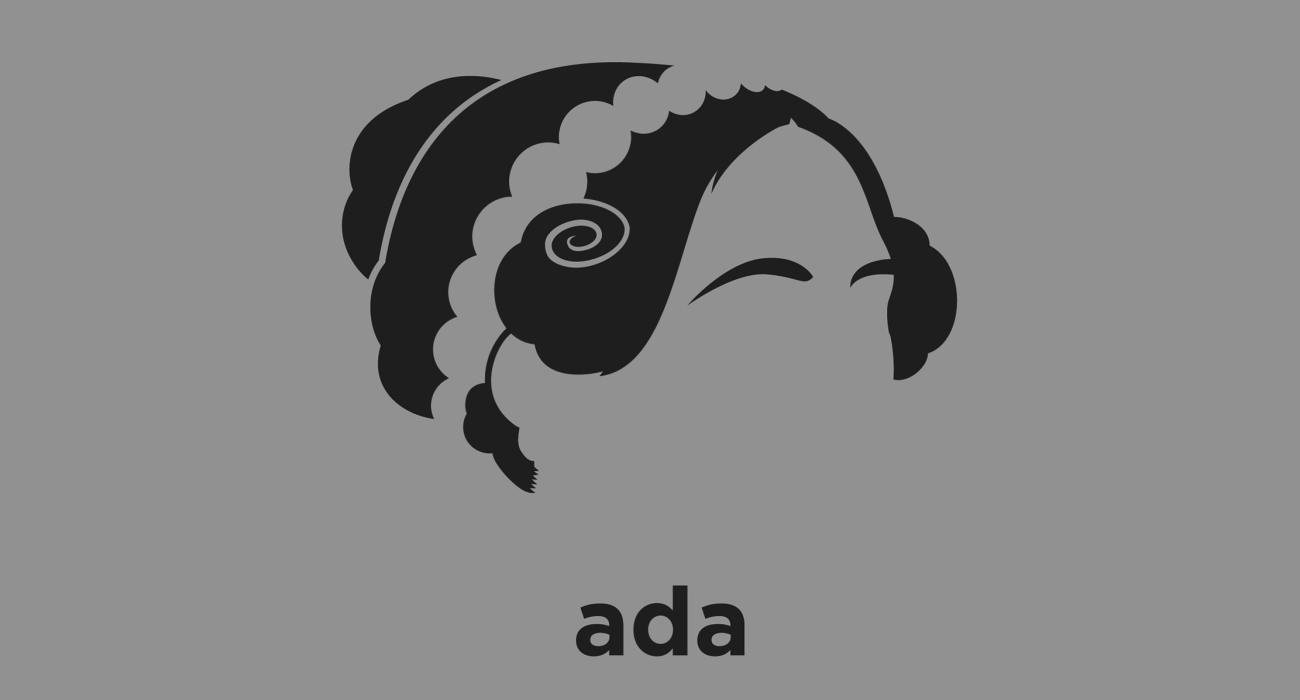 Mathematician Ada Lovelace: the world's first computer programmer, who wrote code for Charles Babbage's never completed Analytical Engine