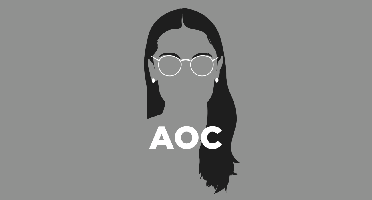 Alexandria Ocasio-Cortez, also known by her initials AOC, drew national recognition when she won the Democratic Party's primary election for New York's 14th congressional district in 2018, becoming the youngest woman ever to serve in the United States Congress.