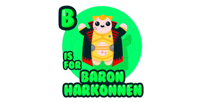 Graphic for b-is-for-baron-harkonnen