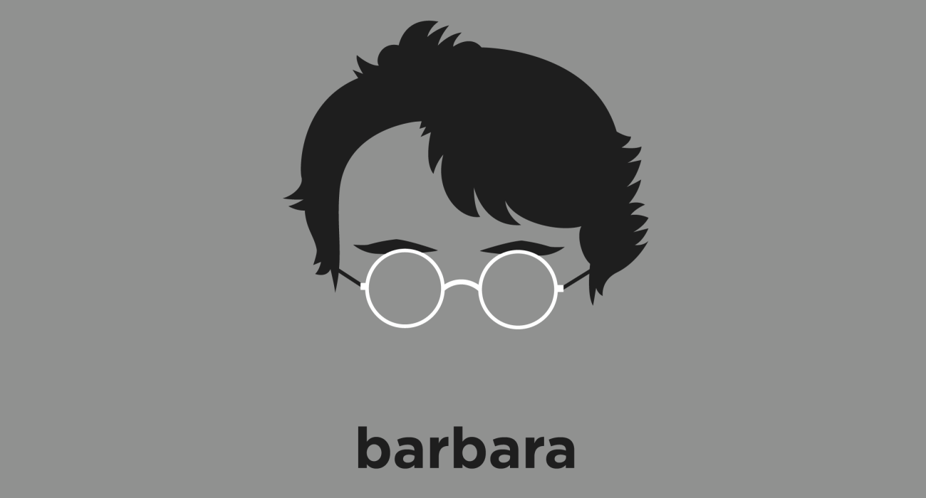 Barbara McClintock: Nobel Prize winning botanist and geneticist best known for her work in maize cytogenetics, and the role of transposition in turning physical characteristics on and off.