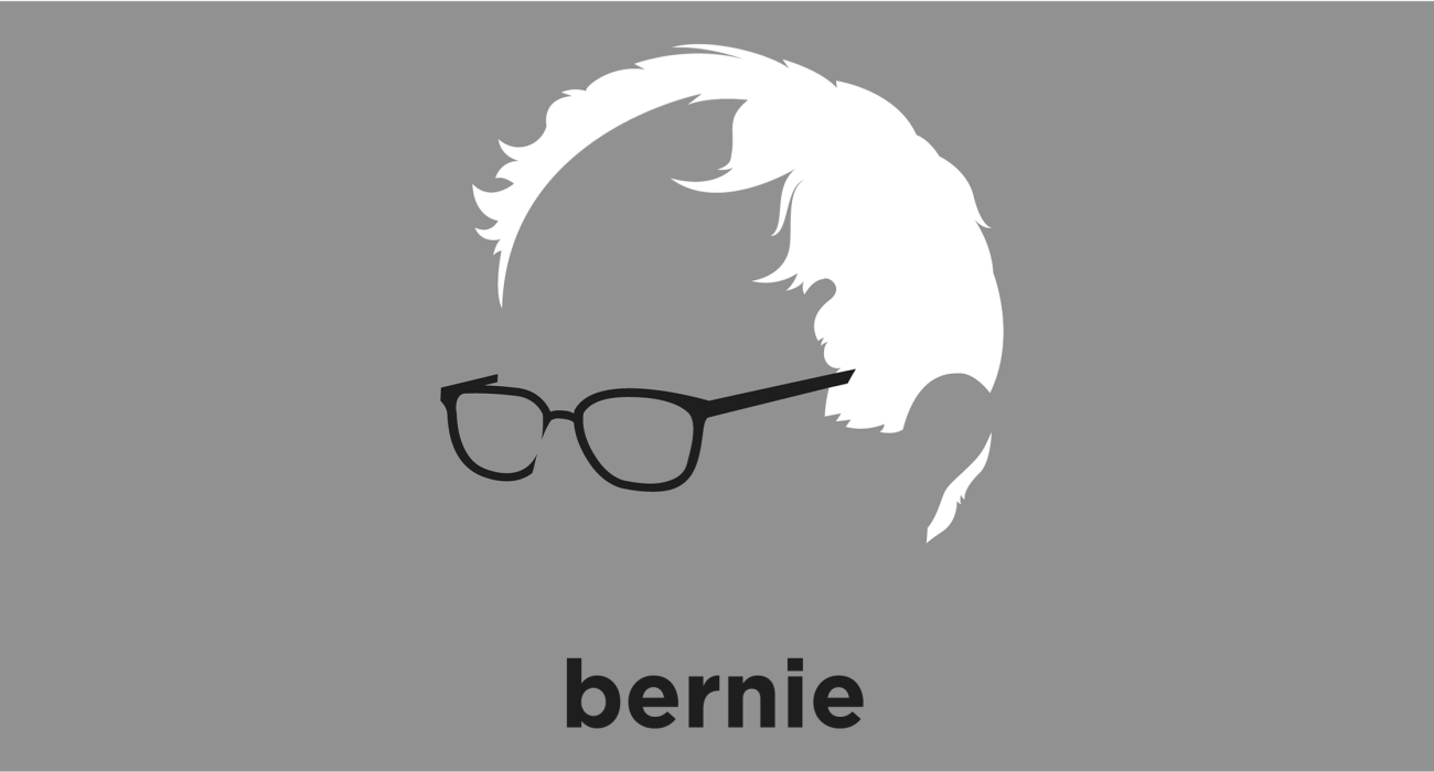 Bernie Sanders: firebrand senator from Vermont and candidate for the Democratic nomination in the 2016 presidential election