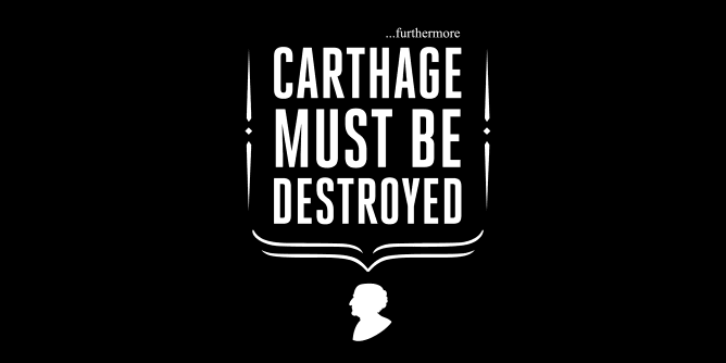 Graphic for carthage-must-be-destroyed