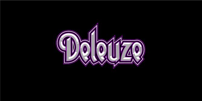 Graphic for deleuze