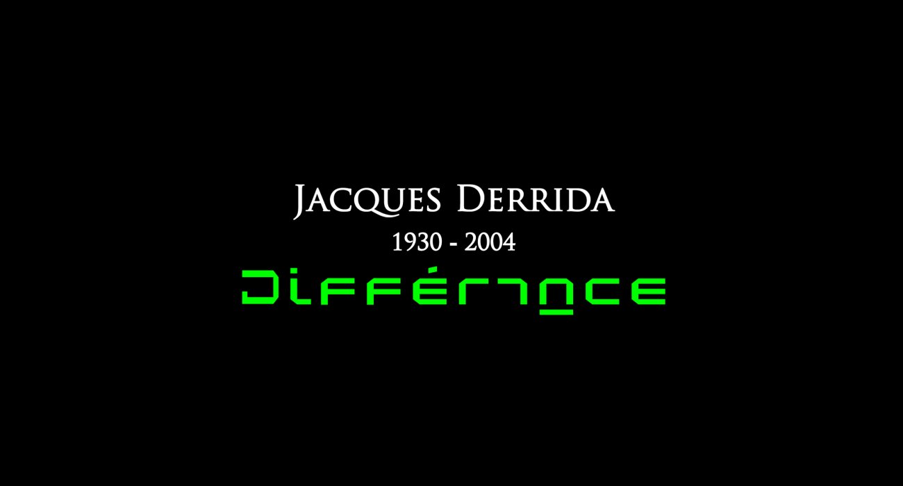 Jacques Derrida: French philosopher, one of the major figures associated with post-structuralism and postmodern philosophy. Best known for developing a form of semiotic analysis known as deconstruction, which he developed in the context of phenomenology.