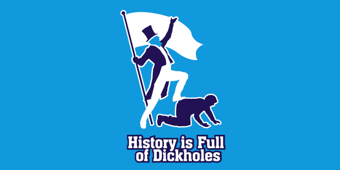 Graphic for dickholes