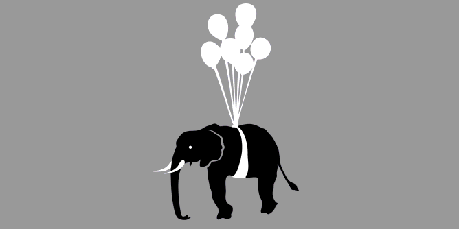 Graphic for elephant