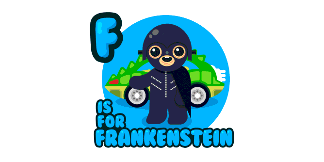 Graphic for f-is-for-frankenstein