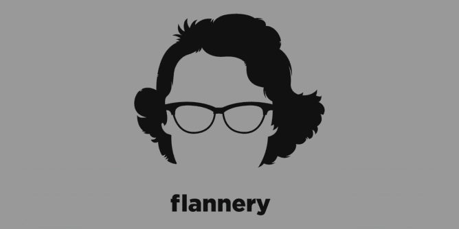 Graphic for flannery-o-connor