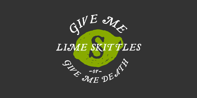 Graphic for lime-skittles-or-death