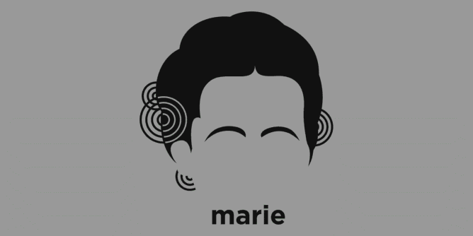 Graphic for marie-curie