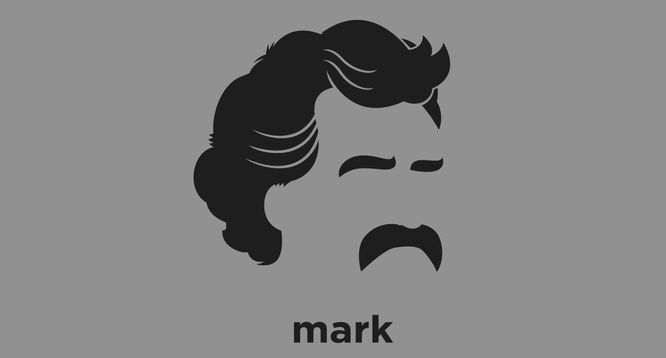 Mark Twain: American author and humorist best known for The Adventures of Tom Sawyer and its sequel, Adventures of Huckleberry Finn
