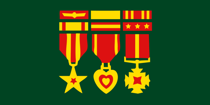 Graphic for medals