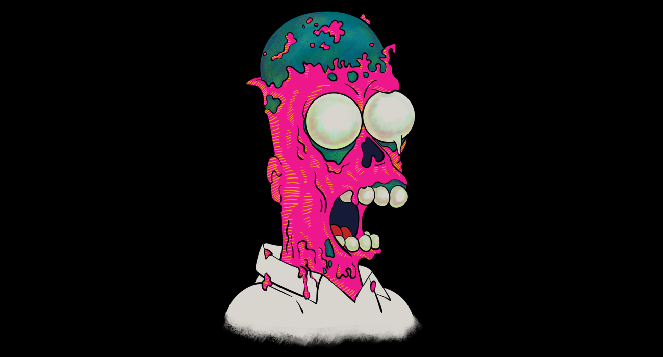 My take on the melting Homer scene from the episode 'Brother from the Same Planet' (Season 4, Episode 14)