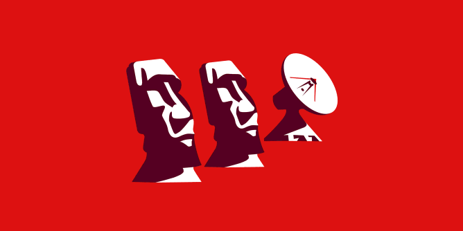 Graphic for moai