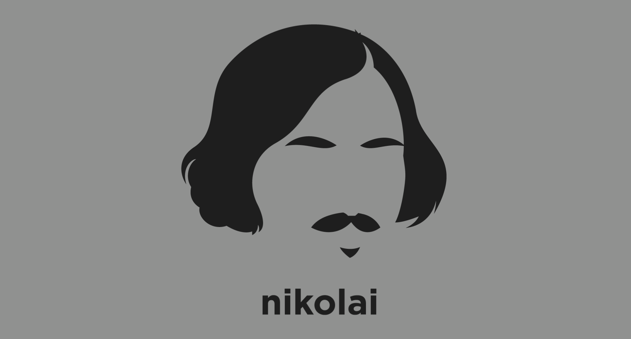 Nikolai Gogol: Ukrainian Dramatist, although considered by his contemporaries a preeminent figure of the natural school of Russian literary realism, later critics have found in his work a fundamentally romantic sensibility, with strains of surrealism and the grotesque