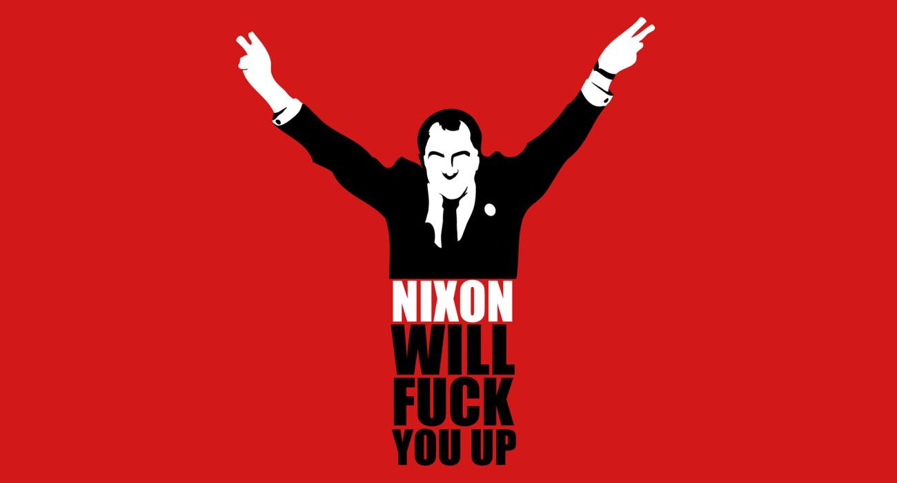 Nixon being all Nixon-y