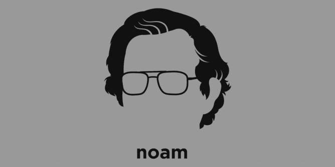 Graphic for noam-chomsky