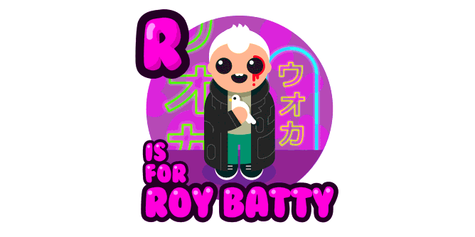 Graphic for r-is-for-roy-batty