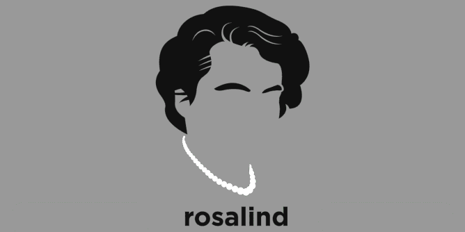 Graphic for rosalind-franklin