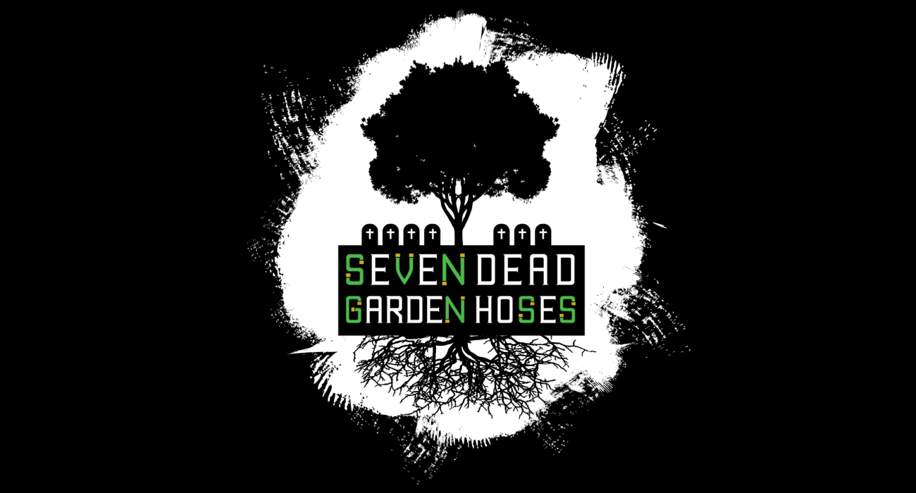 When talking about music my dad always liked to bring up an imaginary band named 'Seven Dead Garden Hoses' he invented, now its a shirt!