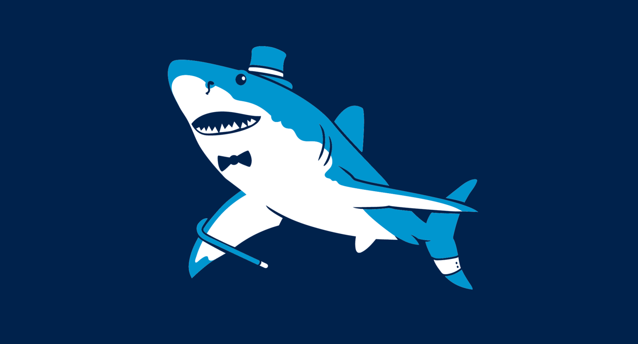 A fancy pants greatwhite, dressed to the nines and ready for a night out on the town