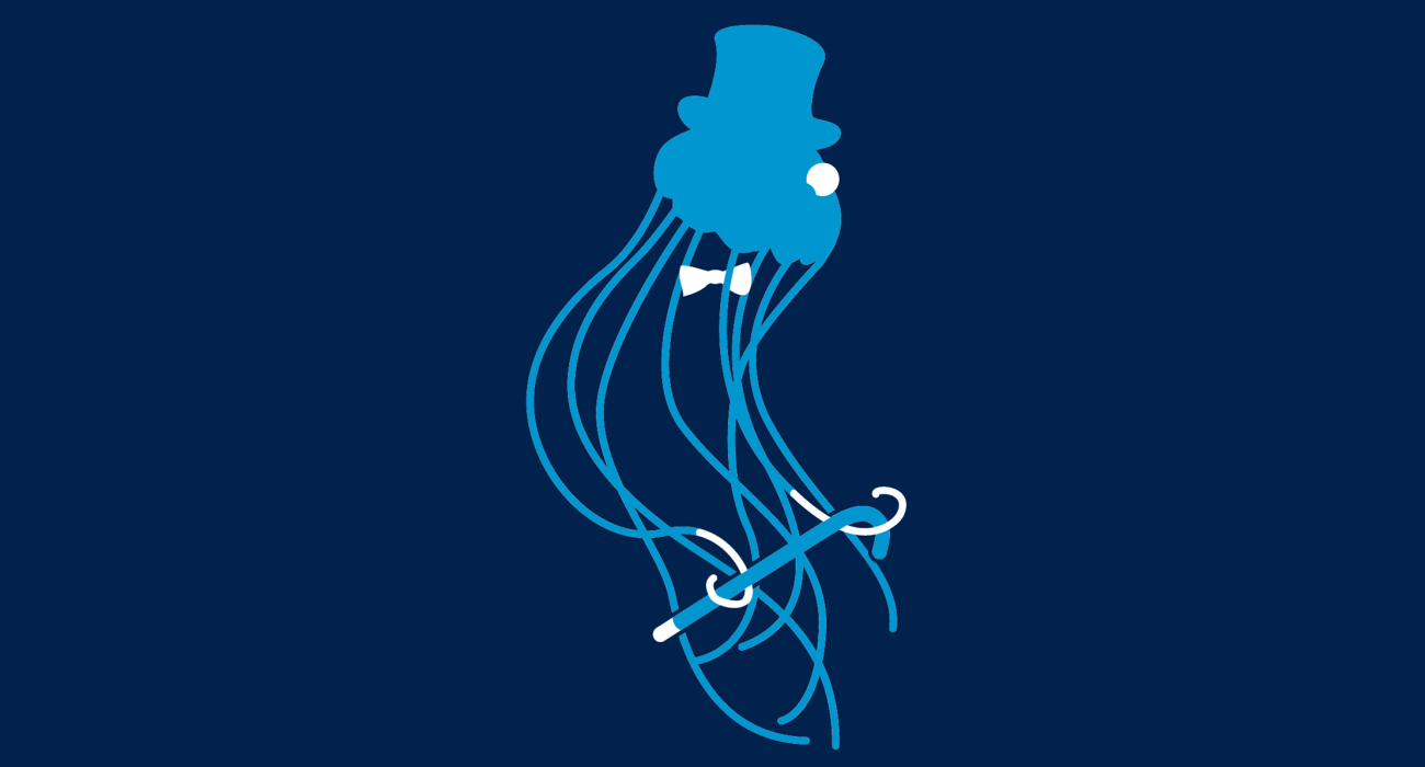 Who new black tie could make even our Cnidaria friends look so good!