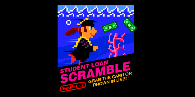 Graphic for studentloanscramble